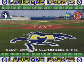 July 13-15: Scout Games at ULL/McNeese State