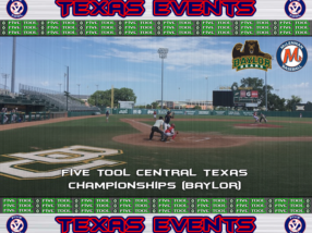 July 5-8: Five Tool Central Texas Championships (Baylor)