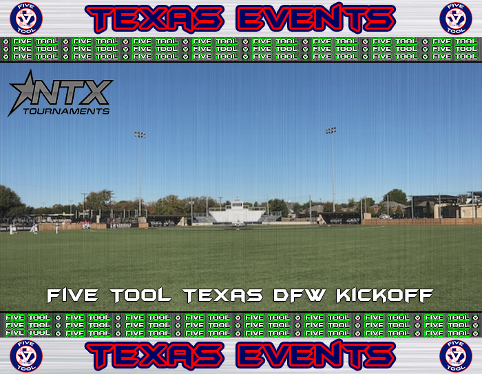 June 1-3: Five Tool Texas DFW Kickoff