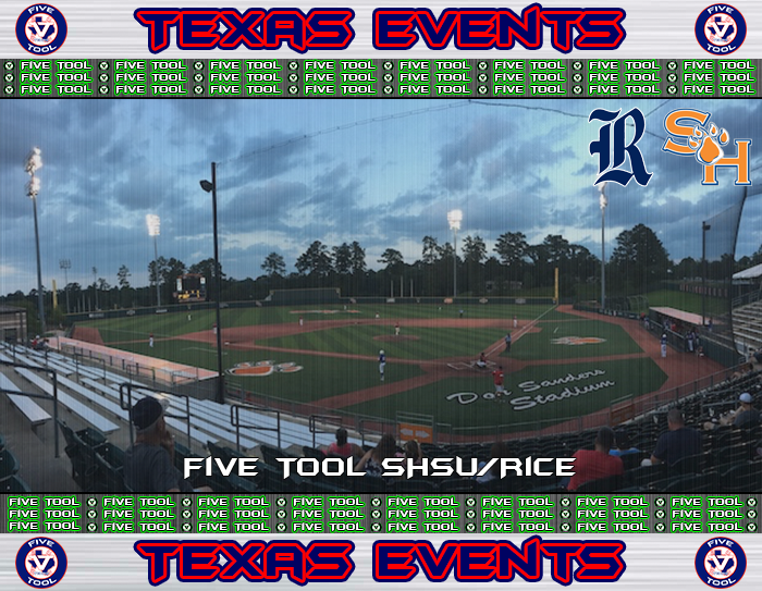 June 14-17: Five Tool SHSU/Rice