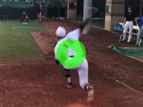 #DudeWatch: Nico Rodriguez (2019 uncommitted RHP/OF)