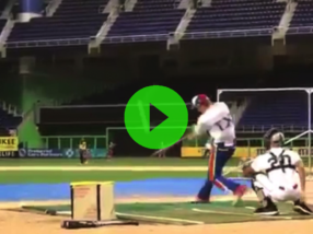 #DudeWatch: Uncommitted 2020 Collin Adams (OF/1B/LHP)