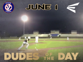Easton Dudes of the Day/Game Stories: Five Tool Texas DFW Kickoff (Friday, June 1)