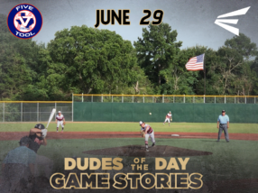 Easton Dudes of the Day/Game Stories: Five Tool Houston (Friday, June 29)