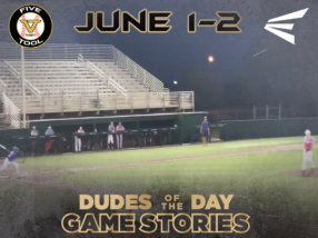 Easton Dudes of the Day/Game Stories: Five Tool West Abilene Christian Qualifer (Friday, June 1-Saturday, June 2)