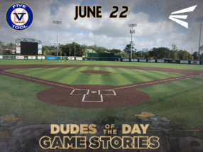 Easton Dudes of the Day/Game Stories (Friday, June 22): Scout Games at Tulane