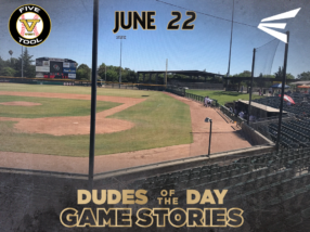 Easton Dudes of the Day/Game Stories: Five Tool West Northern California NIT (June 22)