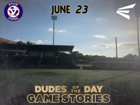 Easton Dudes of the Day/Game Stories: The Five Tool Show (Saturday, June 23)