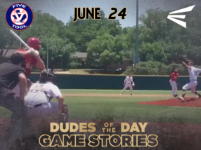Easton Dudes of the Day/Game Stories: Cowtown Classic (Sunday, June 24)