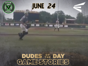 Easton Dudes of the Day/Game Stories: Five Tool Midwest WSU Turf Classic (Sunday, June 24)