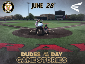 Easton Dudes of the Day/Game Stories: Five Tool West 14U-15U Championships (Thursday, June 28)