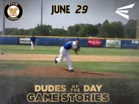Easton Dudes of the Day/Game Stories: Five Tool West 14U-15U Championships (Friday, June 29)