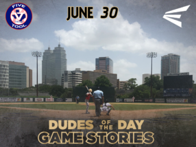 Easton Dudes of the Day/ Game Stories: Five Tool Houston (Saturday, June 30)