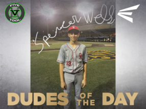 Spencer Wells, Dude of the Day, May 31