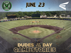 Easton Dudes of the Day/Game Stories: Five Tool Midwest WSU Turf Classic (Saturday, June 23)