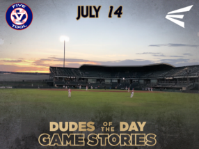 Easton Dudes of the Day/Game Stories: Five Tool Texas 17U Championship (Saturday, July 14)