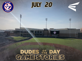 Easton Dudes of the Day/ Game Stories: Five Tool Texas 15U, 16U Championships (Friday, July 20)