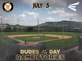 Easton Dudes of the Day/Game Stories: Five Tool West Rocky Mountain Championships (July 5)