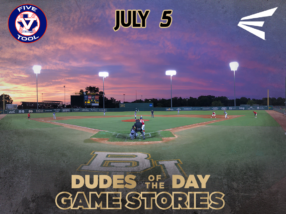 Easton Dudes of the Day/ Game Stories: Five Tool Central Texas Championships (Thursday, July 5)