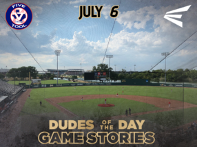 Easton Dudes of the Day/ Game Stories: Five Tool Central Texas Championships (Friday, July 6)
