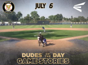 Easton Dudes of the Day/Game Stories: Five Tool West Rocky Mountain Championships (Friday, July 6)
