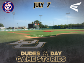 Easton Dudes of the Day/Game Stories: Five Tool Central Texas Championships (Saturday, July 7)