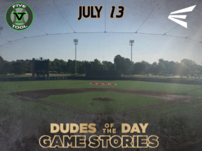 Easton Dudes of the Day/Game Stories: Five Tool Midwest Oklahoma World Series (Friday, July 13)