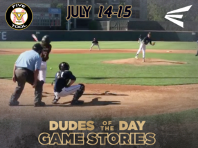 Game Stories: Five Tool West 16U-17U Northern California (Saturday, July 14-Sunday, July 15)