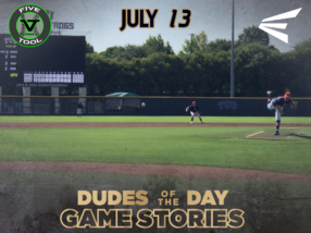 Easton Dudes of the Day/Game Stoires: Five Tool Texas 17U Championship (Friday, July 13)
