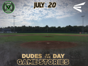 Easton Dudes of the Day/Game Stories: Five Tool Midwest 412 Series (Friday, July 20)