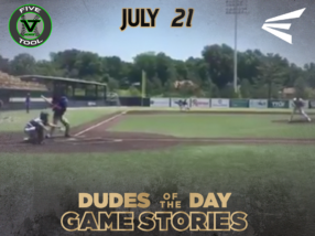 Easton Dudes of the Day/Game Stories: Five Tool Midwest 412 Series (Saturday, July 21)