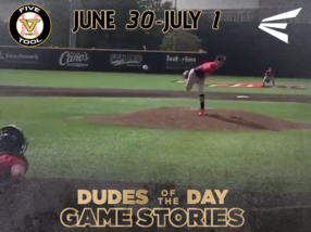 Easton Dudes of the Day/Game Stories: Five Tool West 14U-15U Championships (June 30-July 1)