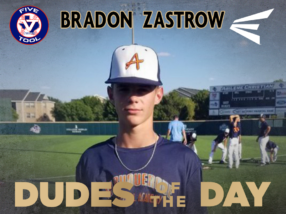Bradon Zastrow, Dude of the Day, Sept. 1