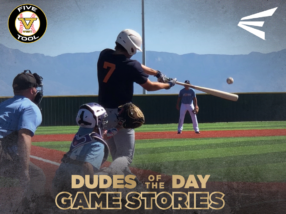 Easton Dudes of the Day/Game Stories: Five Tool West Fall ABQ (Sunday, September 30)