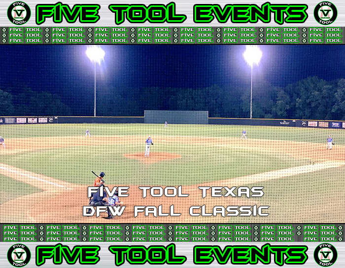 October 13-14: Five Tool Texas DFW Fall Classic