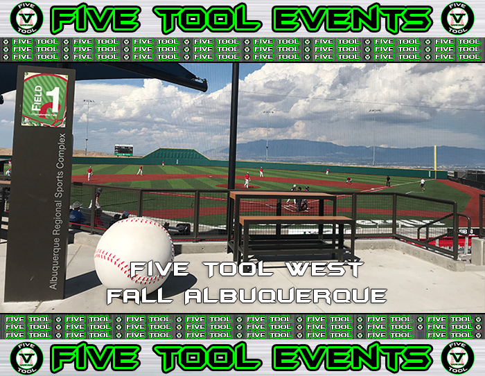 Sept. 27-30: Five Tool West Fall Albuquerque
