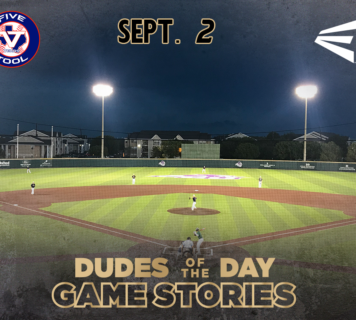 Easton Dudes of the Day/Game Stories: Five Tool Labor Day Fall Kickoff (Sunday, September 2)