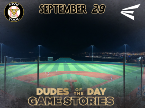 Easton Dudes of the Day/Game Stories: Five Tool West Fall ABQ (Saturday, September 29)