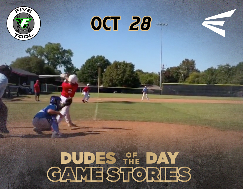 Easton Dudes of the Day/Game Stories: Five Tool Futures 14U Fall DFW (Sunday, October 28)