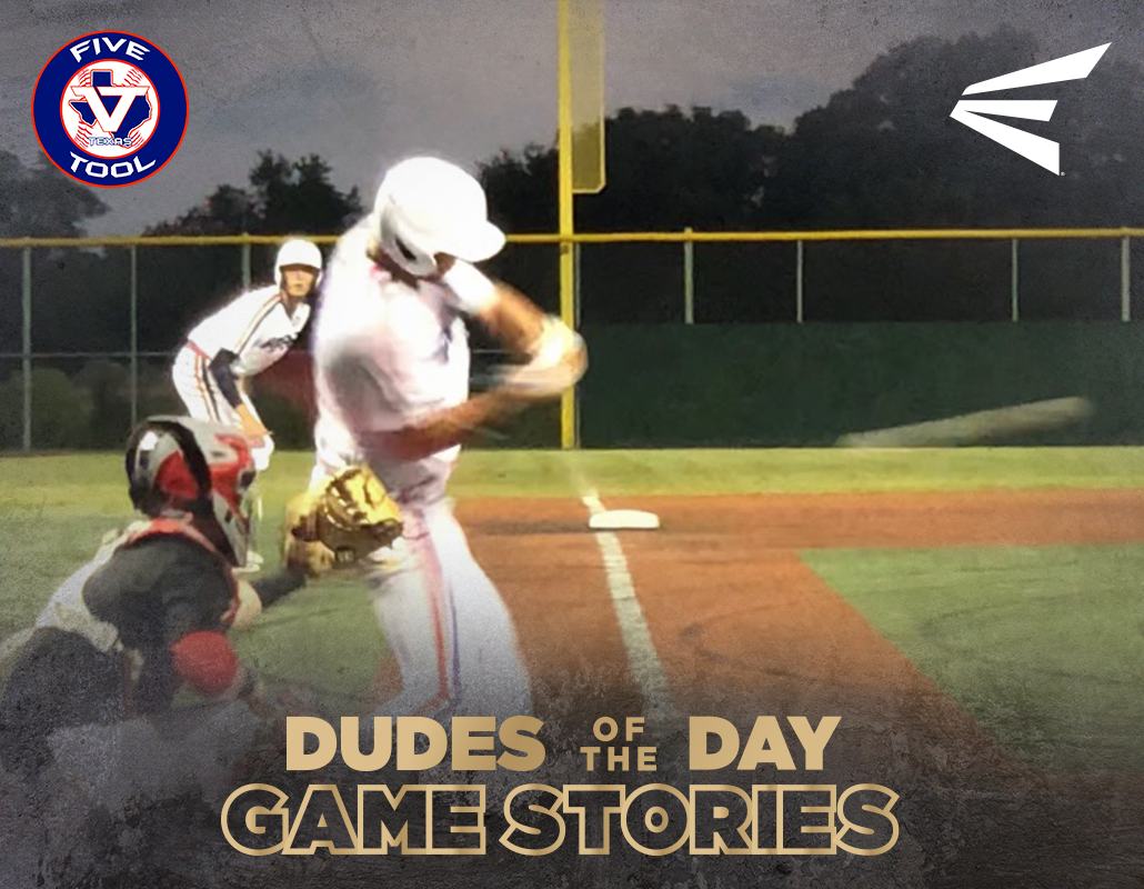 Easton Dudes of the Day/Game Stories: Five Tool Texas Houston Fall Classic (Friday, October 5)