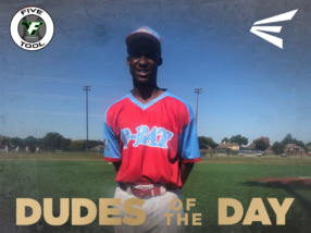 RJ Jackson, Dude of the Day, Oct. 26-27