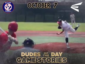 Easton Dudes of the Day/Game Stories: Five Tool Texas Houston Fall Classic (Sunday, October 7)