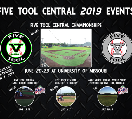 Five Tool Central Events for 2019