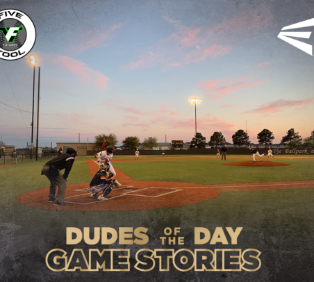 Easton Dudes of the Day/Game Stories: Five Tool Futures 14U Elite League (Sunday, March 31)