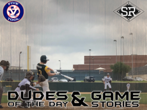 Dudes of the Day/Game Stories: Five Tool Texas DFW Warm-Up (Sunday, May 26)