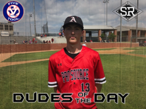 Brodie Thompson, Dude of the Day, May 27, 2019