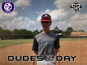 Dominick Reid, Dude of the Day, May 26, 2019