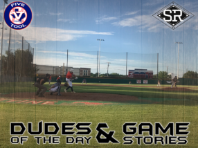 Dudes of the Day/Game Stories: Five Tool Texas DFW Kickoff (Thursday, May 30)