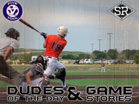 Dudes of the Day/Game Stories: Five Tool Texas DFW Kickoff (Saturday, June 1)