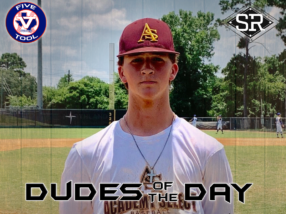 Caden Fiveash, Dude of the Day, June 14, 2019